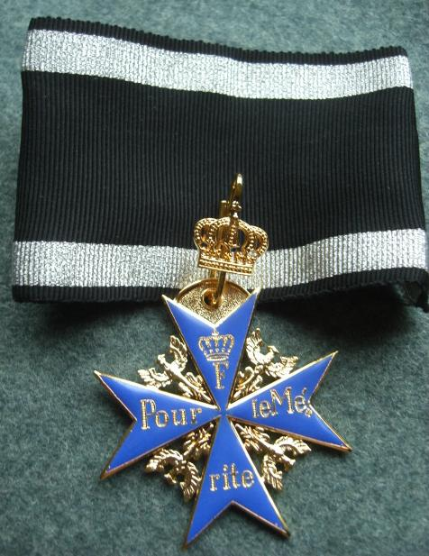 王冠ブルーマックス勲章
