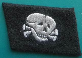 ドクロ兵襟章内向き