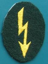 国防軍通信手徽章腕章