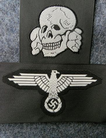 兵SS帽章セットBEVO
