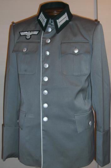 白ライヒスヘール型準礼装勤務服オールシーズン生地タイプ