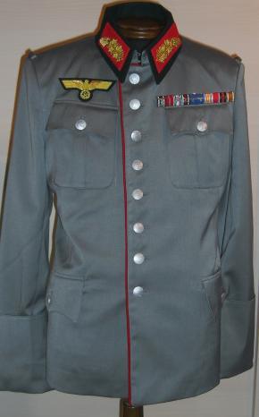 赤ライヒスヘール型準礼装オールシーズンタイプ勤務服