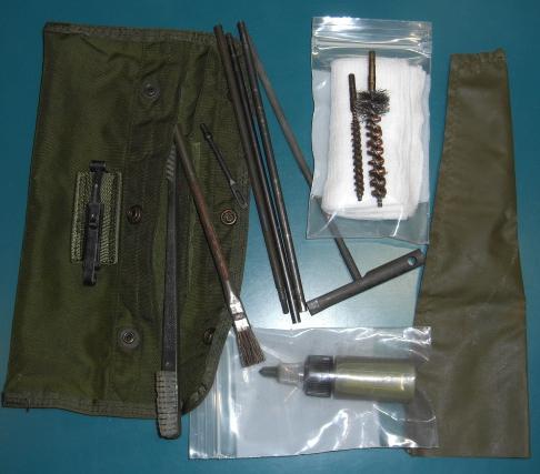 M16小銃クリーニングキット