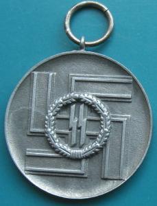 8年SS年功章メダル