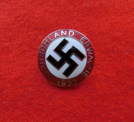 1933ナチス党員章バッチ