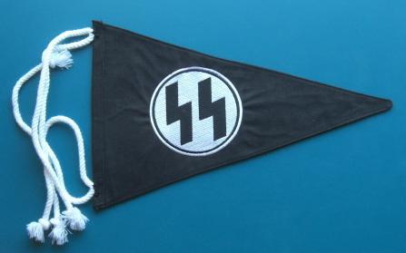 三角ナチSSルーン旗ペナント