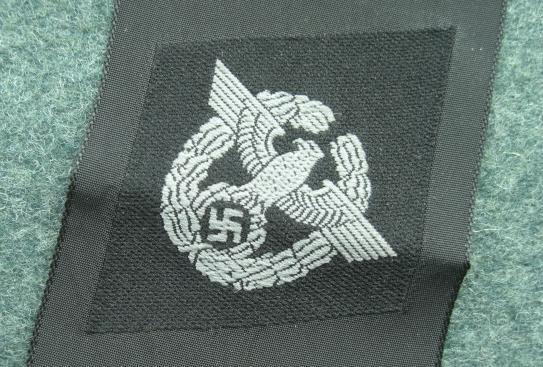 警察ひし形袖章