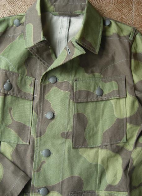 イタリアン迷彩ss43型服