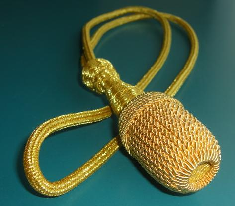 金色剣用飾り提げ緒
