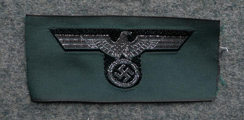 陸軍鷲帽章湾曲型
