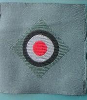 兵コカルデ陸軍BEVO帽章戦時型