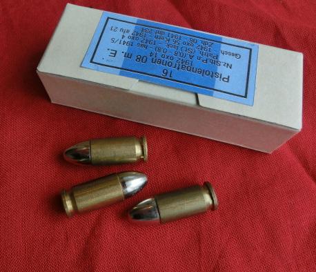 9ミリ弾アモ紙箱