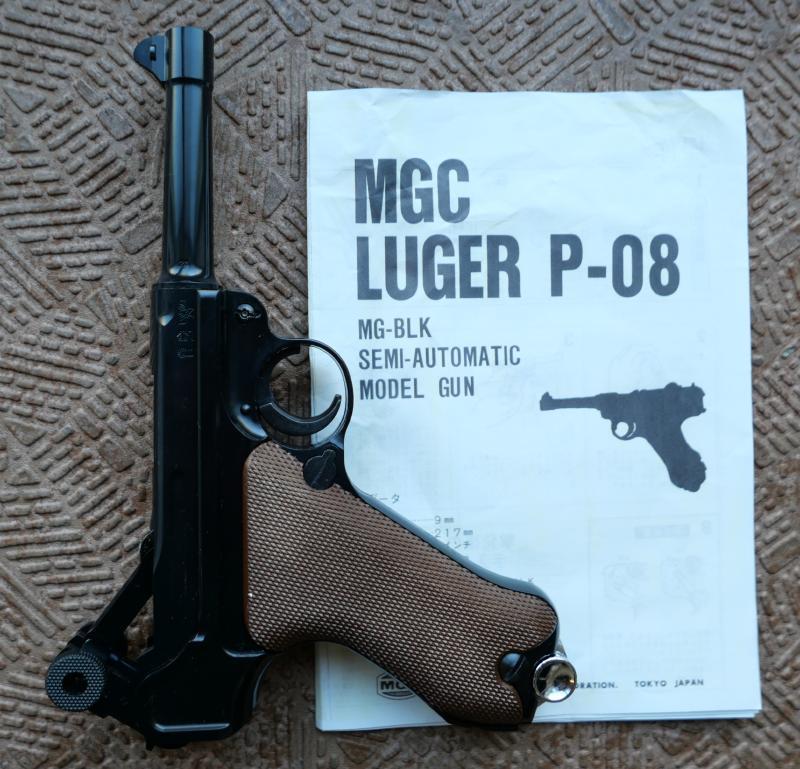 MGCコンバットマグナム4インチ