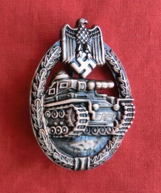 プレス型 Pz戦車突撃章