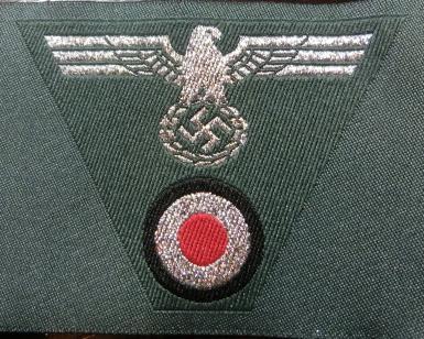 士官陸軍帽章