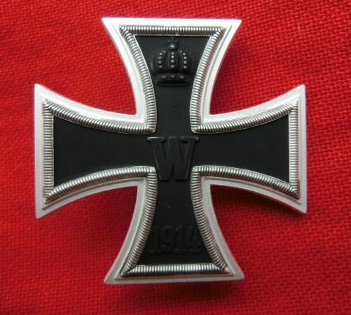 白銀1914鉄十字1級バッチ