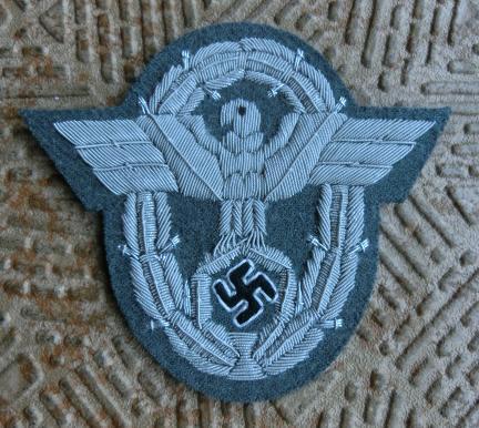 警察指揮官憲兵袖章2型
