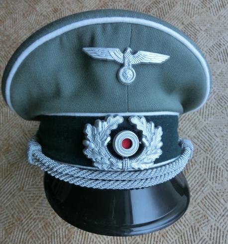 陸軍士官制帽フィールドグレイ 特価版