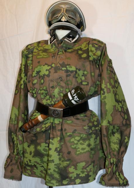 中期武装親衛隊迷彩スモック1型