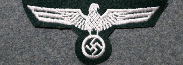刺繍陸軍鷲国家章兵用