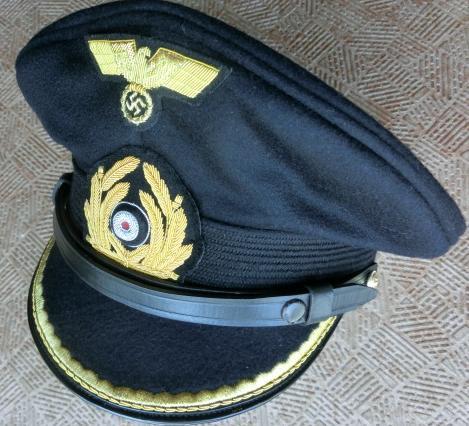 KM海軍尉官制帽