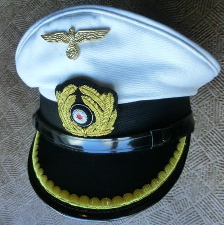 白尉官KM海軍制帽