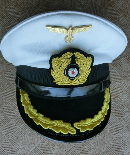 白佐官KM海軍制帽