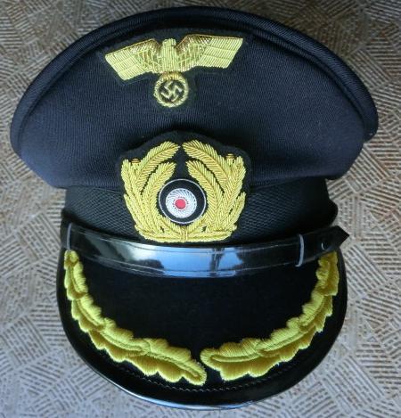 紺佐官KM海軍制帽