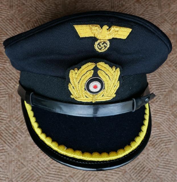 紺尉官KM海軍制帽