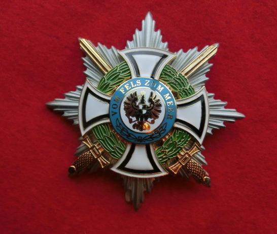 プロイセン ホーヘンツォレルン胸星章