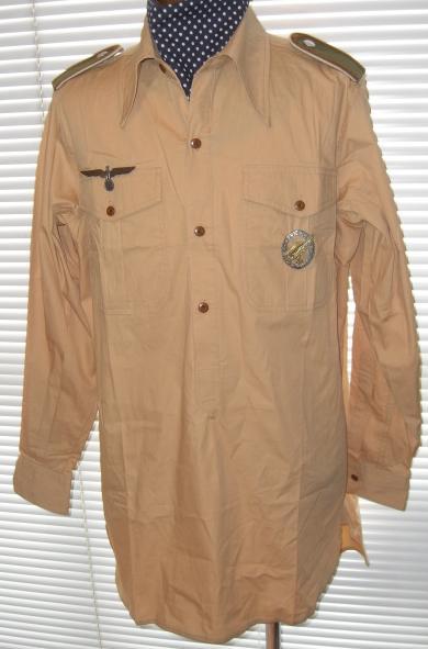 熱帯国防軍シャツ綿